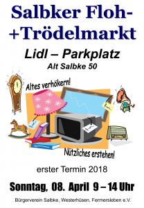 Salbker Flohmarkt April 2018